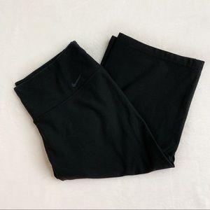 Nike DRI FIT Black Crop Leggings